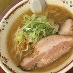 78659930 - 171214木 北海道 狼スープ 味噌らーめん800円
