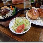 ステーキハウス慶 - ヒレ+サラダセット