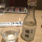 海老善 - 171215金 北海道 海老善空港店 ビールセット冷酒は国稀