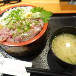 伊豆太郎 - 味噌汁付き