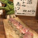 魚道 - 鯛の押し寿司