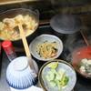 中村家 - 料理写真:肉鍋定食(¥550)