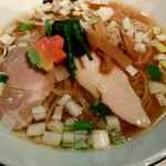 津軽煮干中華蕎麦 サムライブギー - 料理写真:
