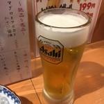 78666676 - 生ビール2杯目