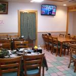 仲泊海産物料理店 - お座敷面積が縮小された新店舗。