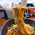 汁なし担々麺 階杉 - ななも製麺所の専用麺