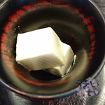 秋本 - 「チーズ豆腐」 220円
