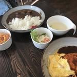 めし・カフェ・一風来 - ポークカレー、750円です。