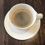 めし・カフェ・一風来 - 食後のコーヒーです。