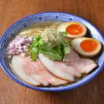 島田製麺食堂 - 飛魚味玉そば