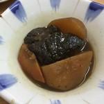 もとや - 牛肉とジャガイモの炊いたん