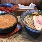 島田製麺食堂 - 10食限定「石焼きうにつけ麺」