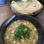 麺や よかにせ - 料理写真:濃厚魚介つけ麺(極太麺)2017.12.26