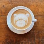 カフェ ウォール - かわいいラテアート