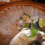 小石川 かとう - カサゴの刺身アップ