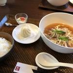 中国料理 桂花 - とりネギ麺ランチ