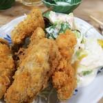 大衆割烹 三州屋 - 牡蛎フライ