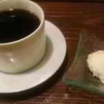 和牛&Seafood Micio(ミーチョ) - ランチドリンク付きでホットコーヒー❤インスタ投稿でバニラアイス付きに♪