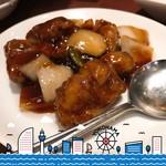 龍海飯店 - 黒酢酢豚