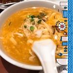 龍海飯店 - スーラータン麺