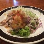 ポーヤイ - ランチセットの豚肉サラダ