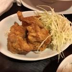 四川料理 芙蓉麻婆麺 - 唐揚げ定食