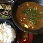 情熱うどん讃州 - 料理写真:カレーうどん(*´ω`*)ランチセット