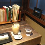 CAFE KICHI - アイスチャイとレアチーズケーキ