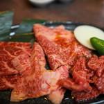 出芽金 - 料理写真:黒毛和牛三昧セット@1,980