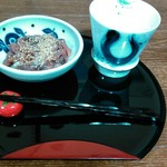 カフェファディ - 料理写真:  酒粕焼酎と…(^-^ゞ