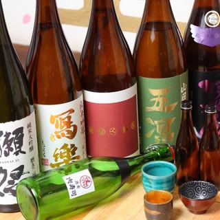 日本酒BYOで持ち込みもOK♪