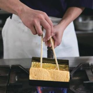 【醤油要らずの出し巻き】全てのたまご料理にヨード卵使用