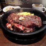 いきなりステーキ - 料理写真:ワイルドステーキの400グラムです。