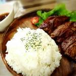 Lavi Ande Cafe - 牛ハラミステーキランチ