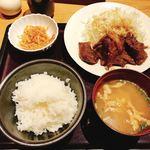 博多もつ鍋 やまや - 豚の生姜焼き