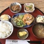 清源坊 - 日替小鉢ランチ750円(+ご飯おかわり茶碗半分100円)
