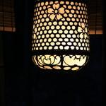 柳生の庄 - お庭の灯