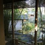 柳生の庄 - お部屋のお庭