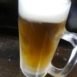 聚楽 - 生ビール