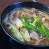 ひびき庵 - 料理写真:鴨南蠻温飩(かもなんばんうどん)