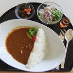 レストラン白樺 - 料理写真:ロックフィル式奥利根マタギのダムカレー