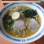 福岡軒 - 料理写真:「みそラーメン(大盛)」630円
