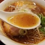 78690179 - 船橋ソースラーメンのスープ