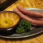 羊肉酒場 悟大 - ラムソーセージ