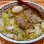 どうとんぼり 神座 - 【煮玉子ラーメン】¥730