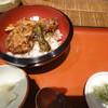浅野屋 - 料理写真:まず天丼が。