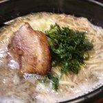 メンコウ ともや - Menkouともや三重大前店 煮干し肉そば アップ