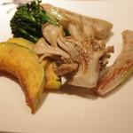 最上亭 - 焼き野菜