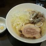 menyaryuu - 塩らーめん(750円)