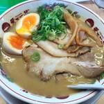 天下一品 - 味付煮卵豚トロチャーシューメン\1032(17-12)